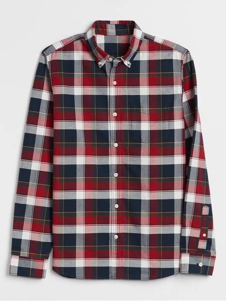 Plaid Shirt in Slim Fit
