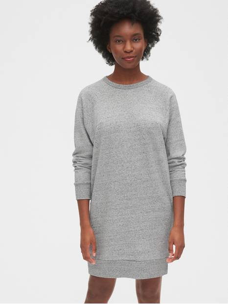 Raglan Sweatshirt Dress