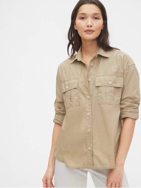Utility Pocket Shirt