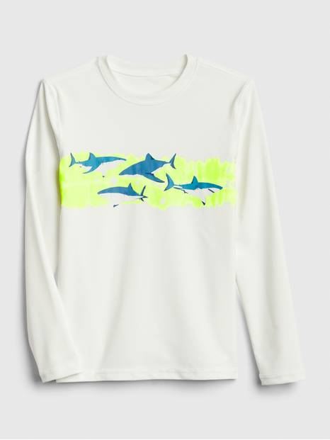 Kids Shark Rashguard