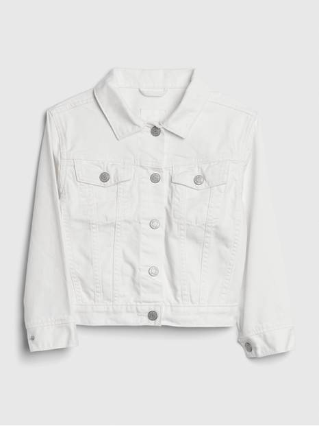 Kids Denim Jacket in Stain Resistant