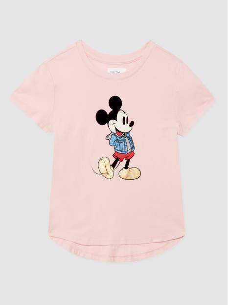 GapKids &#124 Disney Minnie Mouse Flippy Sequin T-Shirt