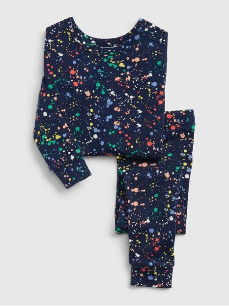 babyGap Paint Splatter PJ Set