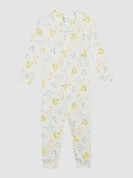Baby Dog Graphic One-Piece