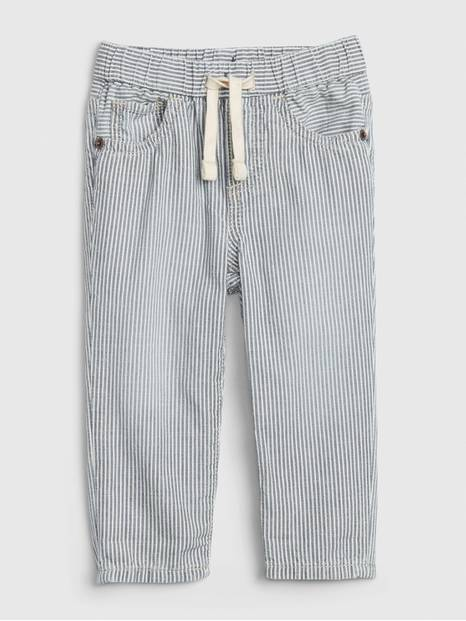 Baby Railroad Stripe Slim Taper Jeans