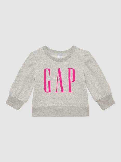 Toddler Balloon-Sleeve Sweatshirt