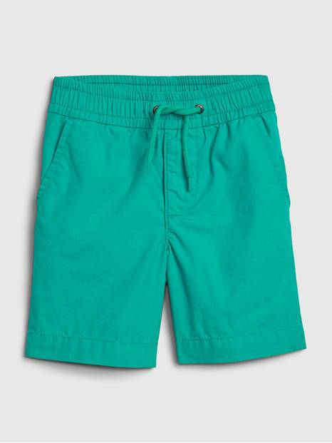 Toddler Poplin Pull-On Shorts