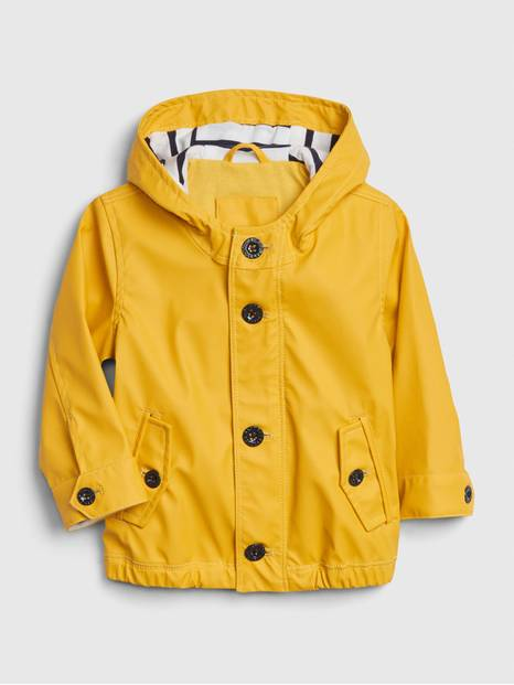 Baby Jersey-Lined Raincoat