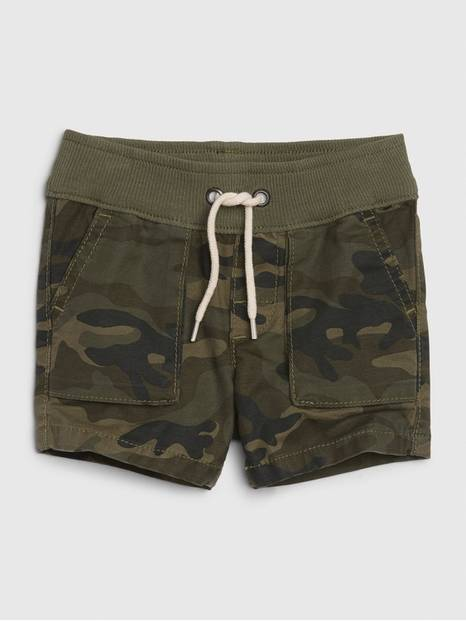 Baby Hunter Camo Pull-On Shorts