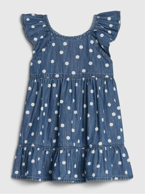 Baby Ruffle Denim Dress