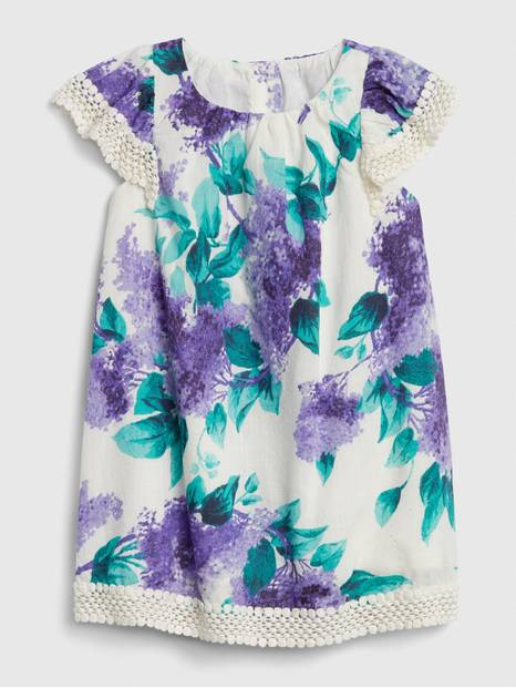 Baby Gap Ruffle Floral Dress