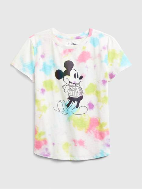 GapKids &#124 Disney Mickey Mouse Tie-Dye Shirt