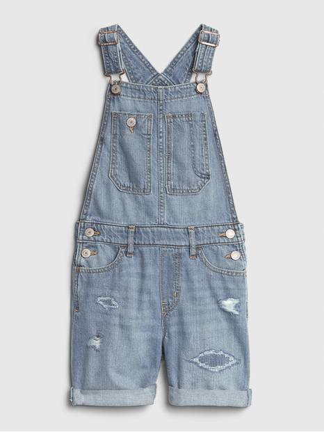 Kids Destructed Shortalls