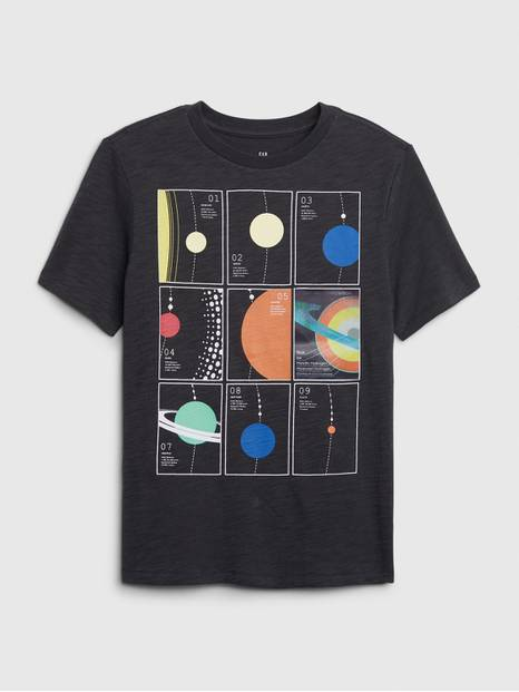 Kids Hologram Graphic T-Shirt