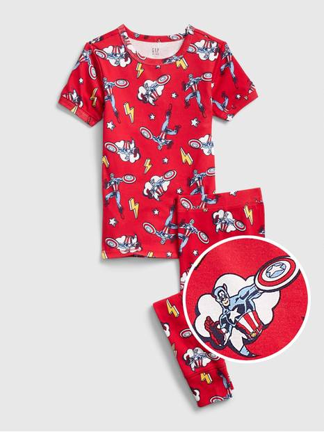 GapKids &#124 Marvel Captain America PJ Set