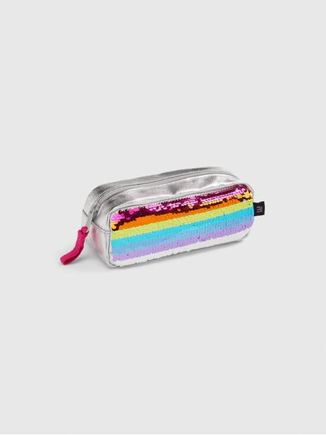 Kids Rainbow Flippy Sequin Pencil Case