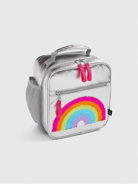 Kids Flippy Sequin Rainbow Lunchbox