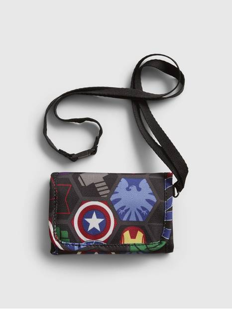 Kids Gap Marvel Print Wallet