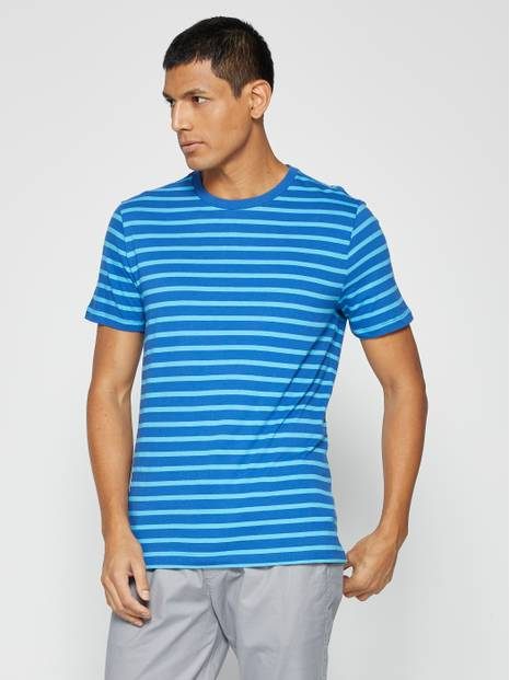 Everyday Stripe Short Sleeve T-Shirt