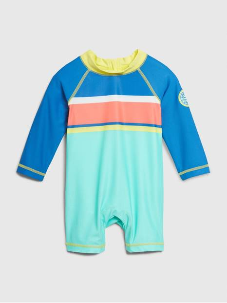 Baby Long Sleeve Swim One-Piece