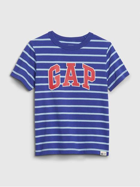 Toddler Arch Logo Stripe T-Shirt