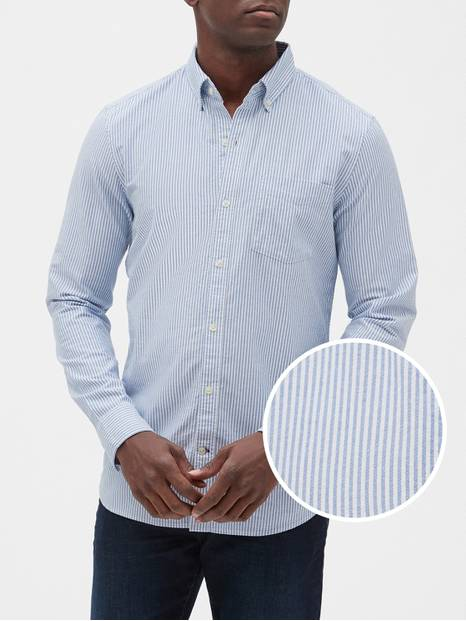 Oxford Long-Sleeve Shirt in Slim Fit