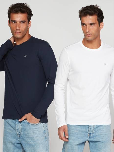 Everyday Long Sleeve T-Shirt, 2-Pack