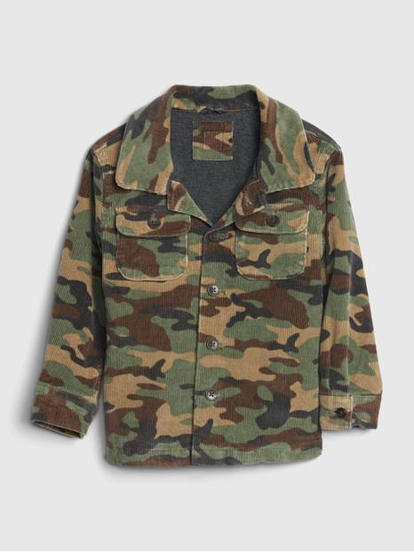 Toddler Camo Cord Jacket