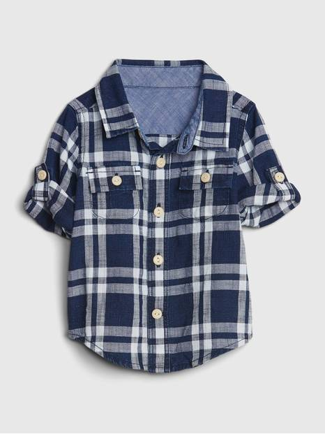 babyGap Plaid Shirt
