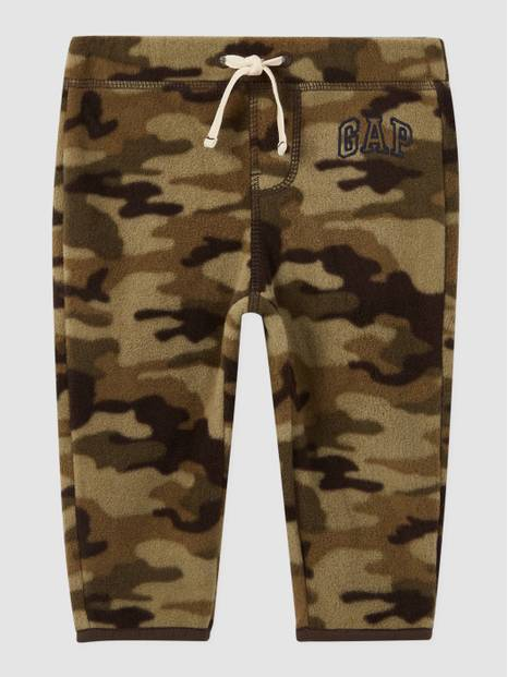 Baby Gap Logo Fleece Printed Joggers