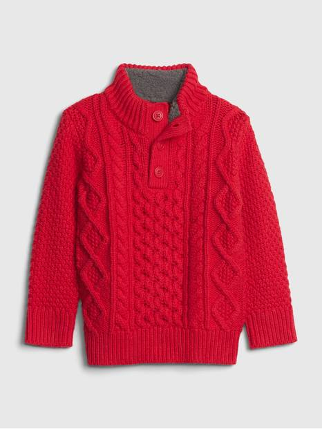 Toddler Cableknit Sweater
