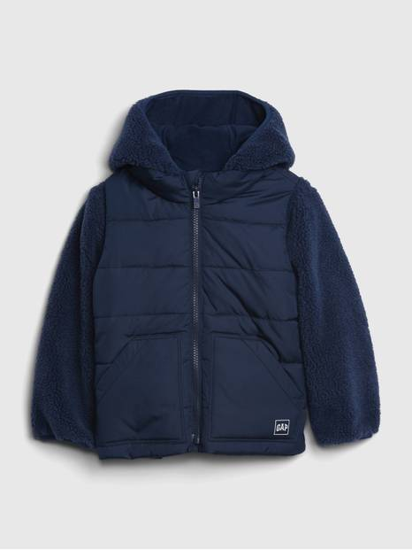 Toddler Sherpa 3-In-1 Jacket