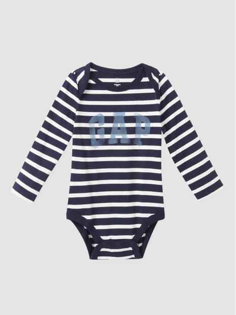 Baby Arch Logo Long Sleeve Bodysuit
