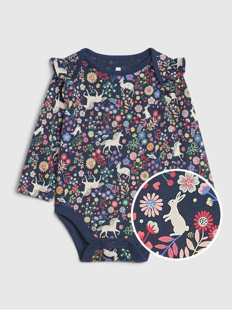 Baby Mix-and-Match Printed Bodysuit