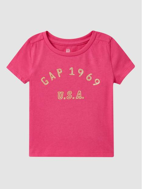 Toddler Glitter Gap Logo T-Shirt