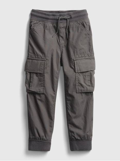 Toddler Lined Cargo Pull-On Joggers