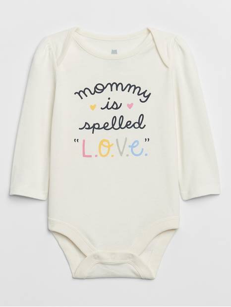 Baby Parent Graphic Bodysuit