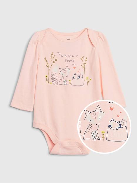 Baby First Favorite Family Bodysuit