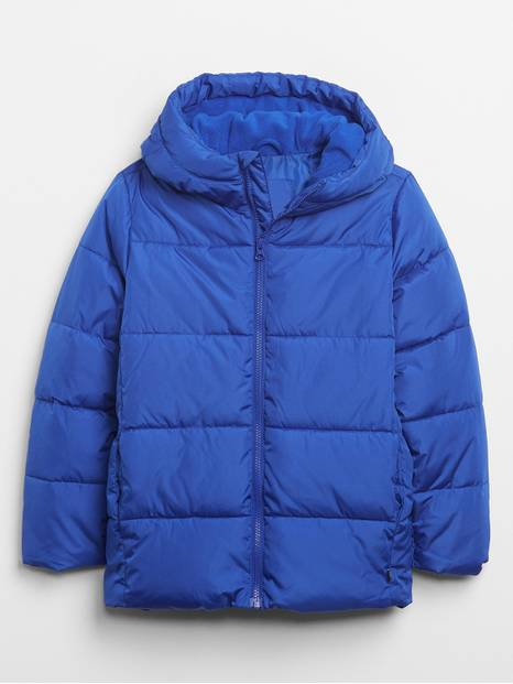 Kids ColdControl Max Hooded Puffer Jacket