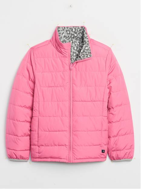 Kids Reversable Puffer Jacket