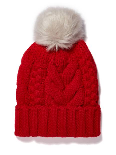 Kids Cable Knit Hat