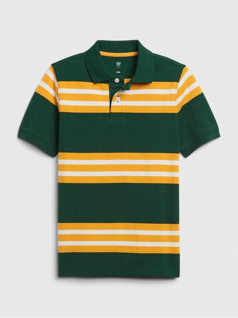 Kids Short Sleeve Polo T-Shirt