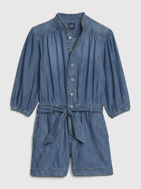 Kids Denim Romper