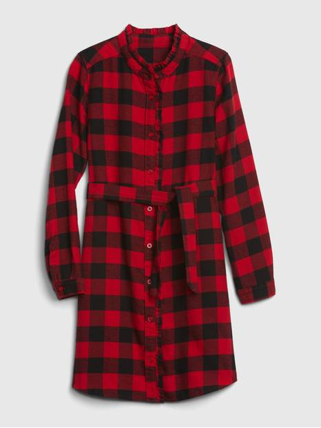 Kids Plaid Dress