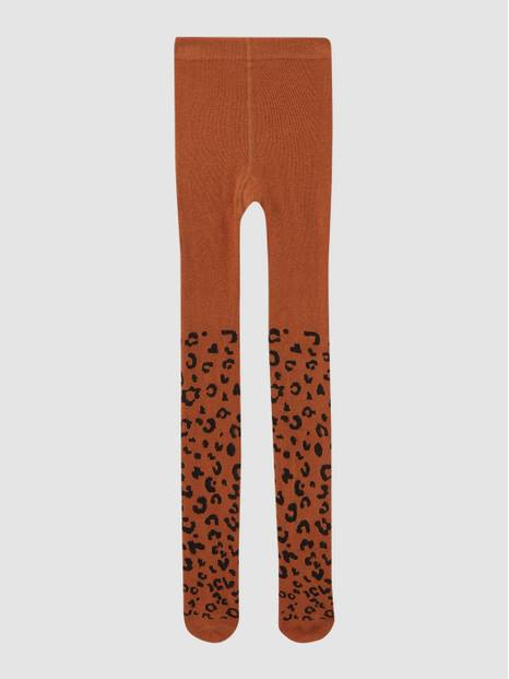 Kids Leopard Print Tights