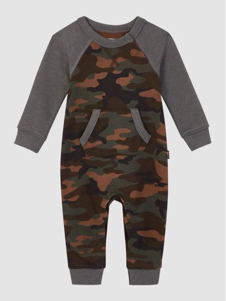 Baby Footless Camo One-Piece