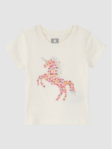 Toddler Unicorn Graphic T-Shirt