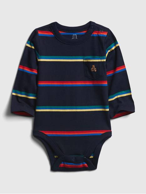 Baby Mix-and-Match Stripe Bodysuit