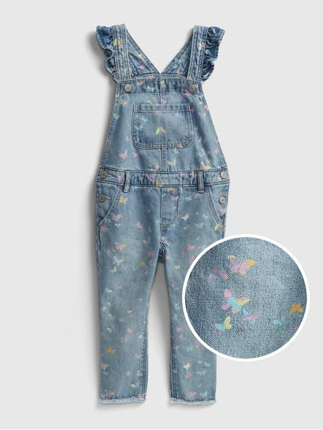 Toddler Ruffle Overalls