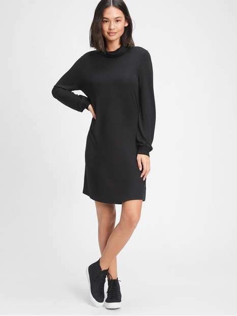 Softspun Turtleneck Dress